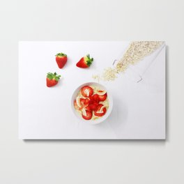 Beautiful Food by Ana  Azevedo Metal Print