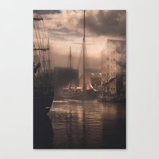 Old Ships Canvas Print