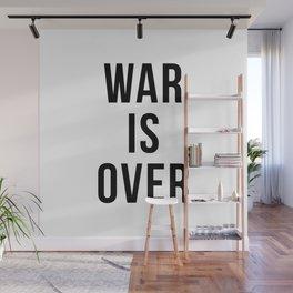 War Is Over Wall Mural