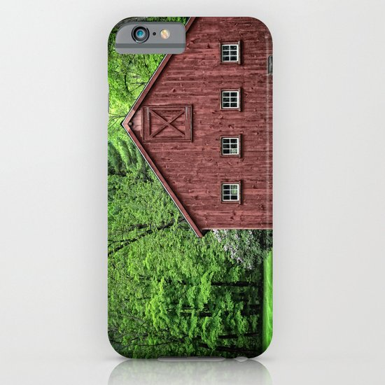 Connecticut Barn iPhone & iPod Case