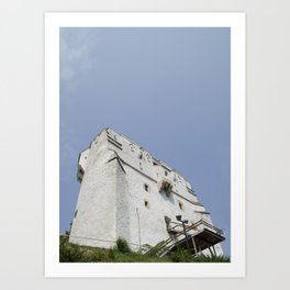 White Tower Art Print