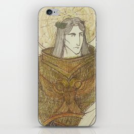 God emperor of mankind iPhone Skin