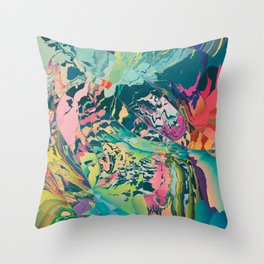 Treasures of the jungle Throw Pillow