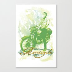 Morrissycle Canvas Print