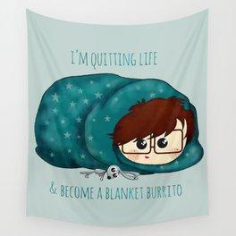 blanket burrito /Agat/ Wall Tapestry