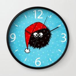 Cute Dazzled Bug Christmas Wall Clock