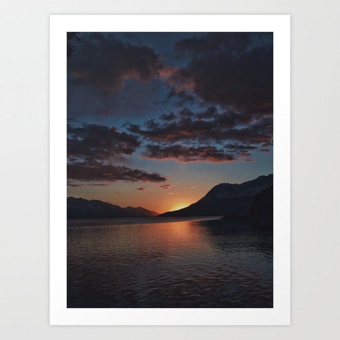 Sunset Moments Art Print