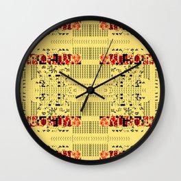 Ronin Stomp Wall Clock