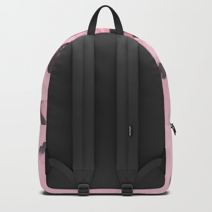 Poppies in the pink Backpack