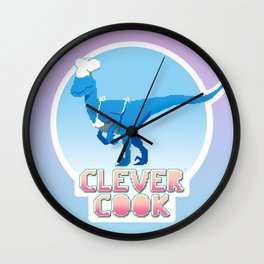 Clever Cook Wall Clock