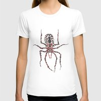 spider T-shirts featuring Spider by coconuttowers