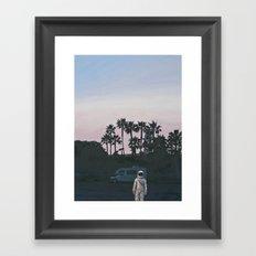 RV Dusk Framed Art Print