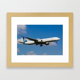 Air New Zealand Boeing 777 Framed Art Print
