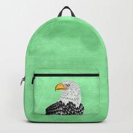 Bald eagle drawing Backpack