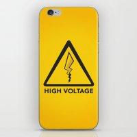 High Voltage iPhone & iPod Skin