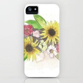 Flowers I iPhone Case