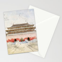 The forbidden City, Beijing Stationery Cards