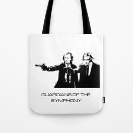 Brahms & Beethoven Guardians of the Symphony Tote Bag