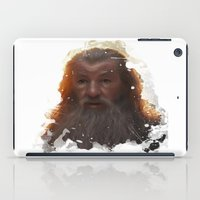 gandalf iPad Cases featuring Gandalf by Ryky