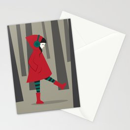 There is No Wolf Stationery Cards