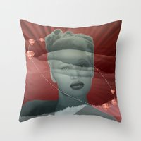 diamonds Throw Pillows featuring diamonds by Rosa Picnic