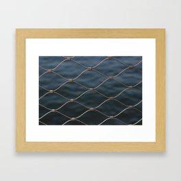 BK Water Framed Art Print