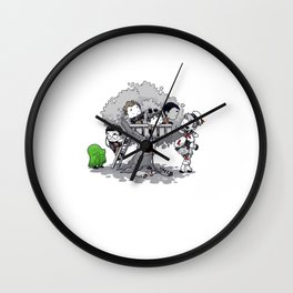 Ghost Busting Clubhouse Wall Clock