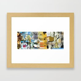 Exquisite Corpse: Round 2 Framed Art Print