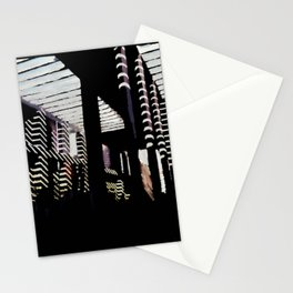 68 - IIMB pergola lights Stationery Cards
