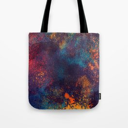 Universe color splash Tote Bag