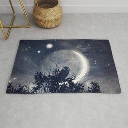 A Night With Venus and Jupiter Rug