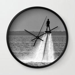 The Rocket Man Wall Clock