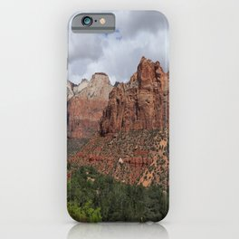 A View From Zion Mount Carmel Road  iPhone Case
