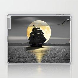 A ship with black sails Laptop & iPad Skin