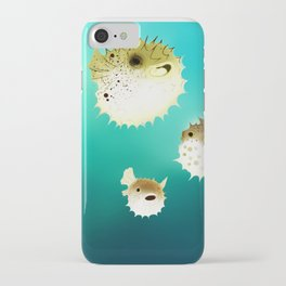 PUFFERFISH iPhone Case