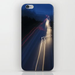 Whizzing Lights iPhone Skin