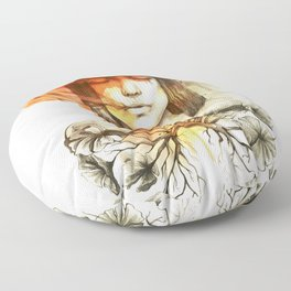 Evil's Smoke Floor Pillow