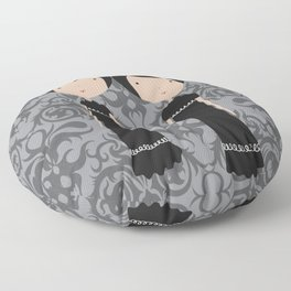 Meredith and Delany: Vampire Twins Floor Pillow