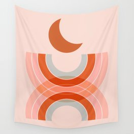 Cradle the moon - twilight Wall Tapestry