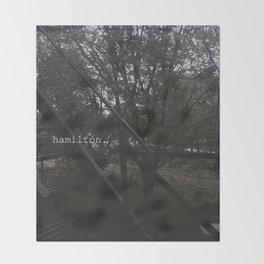 hamilton. Throw Blanket
