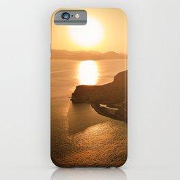 Milos Sunset iPhone Case