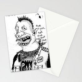 Oink!  Stationery Cards
