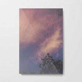 Hazy Sunset Metal Print