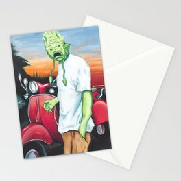 Canvey Island Monster Stationery Cards