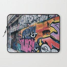 Side Walk Graffiti Street Art Laptop Sleeve