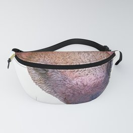 Anteater Sleeping Face Mammal Icon Image Brown Nose Fanny Pack
