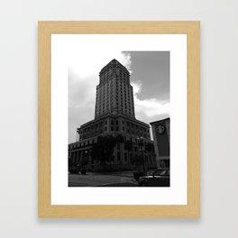 Gov and Cof Framed Art Print