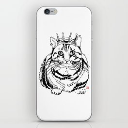 I am KING iPhone Skin