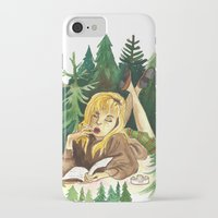 laura palmer iPhone & iPod Cases featuring Twin Peaks Secret Diary of Laura Palmer by Lindsey Caneso