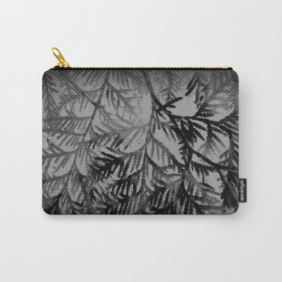 Tree | Trees | Beyond The Trees | Cedar Branches Carry-All Pouch